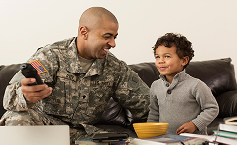 Military and veteran TV Deals with ADVANCED WIRELESS INC.